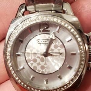 Stainless Steel Coach Ladies watch